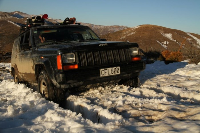 4wd mission on Thomsons Gorge Road through the Dunstan Range