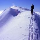 Summit ridge Mt Moltke
