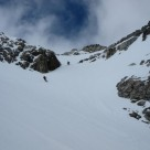 A back country ski traverse of Mt Barth and Mt Heim