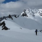 Approaching  the Summit of Mt Heim