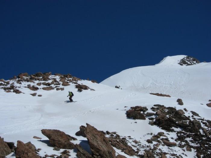Summit slopes Mt Hamilton ski tour