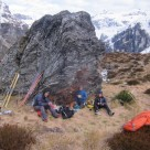 Bivvy rock and start of day 2