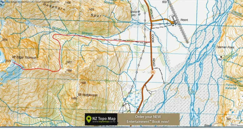 Map  Mt.Edgar Thomson