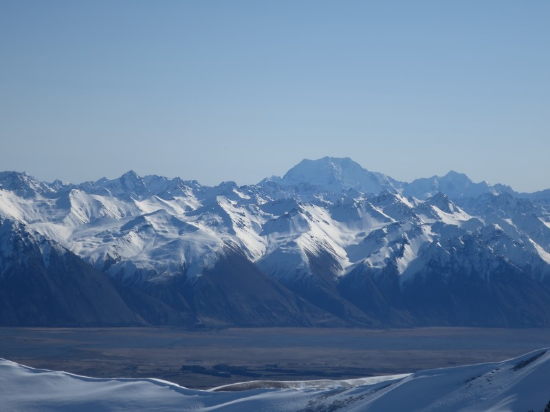 Views of the Godley Valley & Mt Cook: Fox Pk- Roundhill