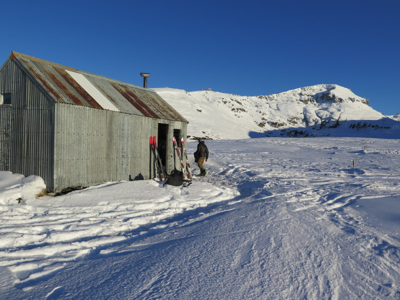 Blue Lake Huts, Garvie Mountains, Southland